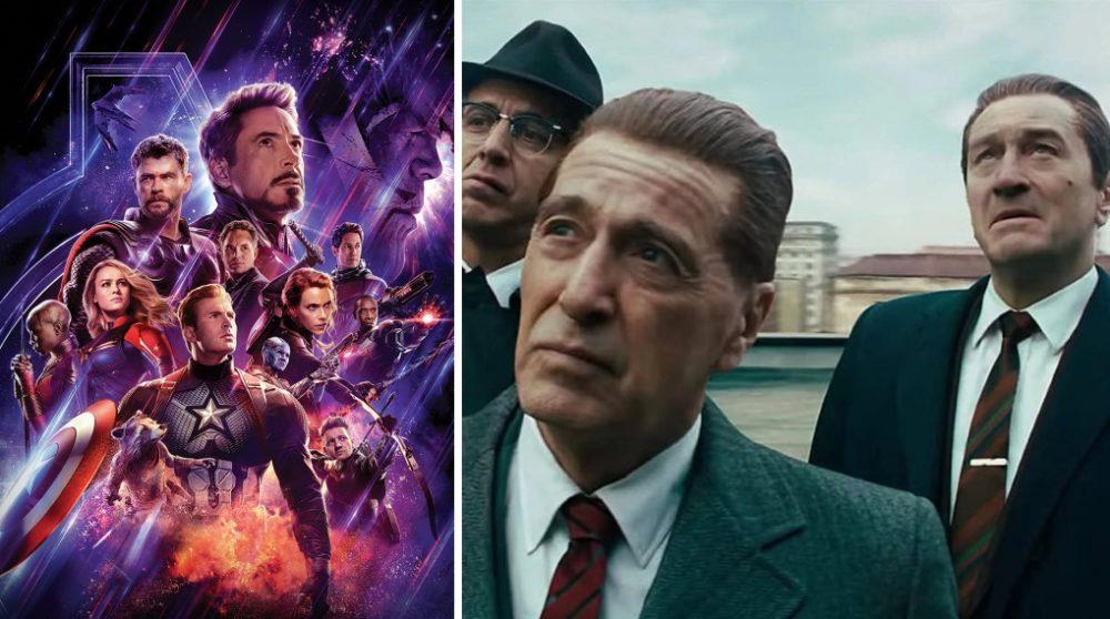 Avengers: Endgame The Irishman effekter Oscar / Filmz.dk