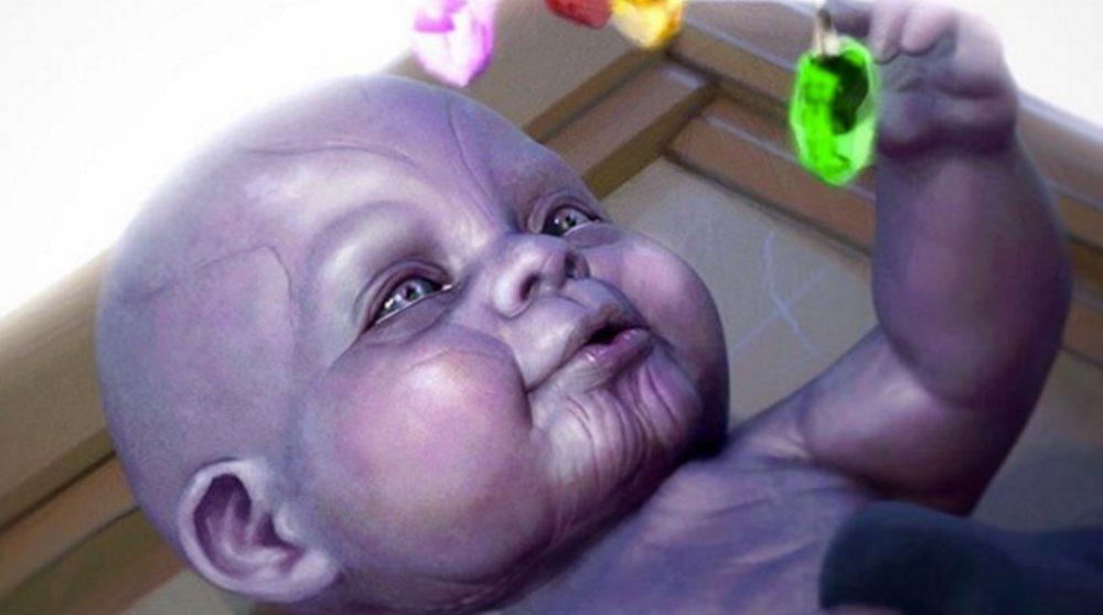 Baby Thanos Infinity Stones / Filmz.dk