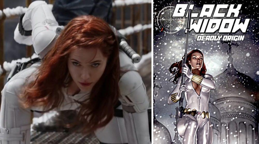 Black Widow Deadly Origin tegneserie Marvel / Filmz.dk