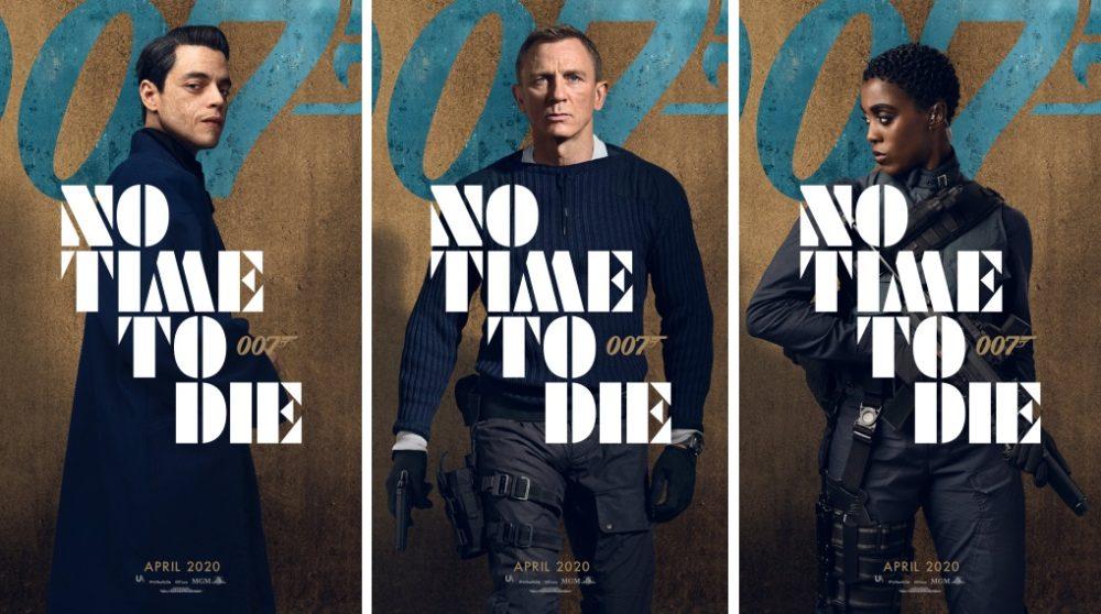 No Time to Die plakater James Bond / Filmz.dk