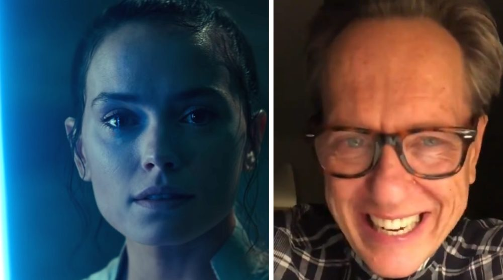 Richard E. Grant Star Wars reaktion The Rise of Skywalker / Filmz.dk