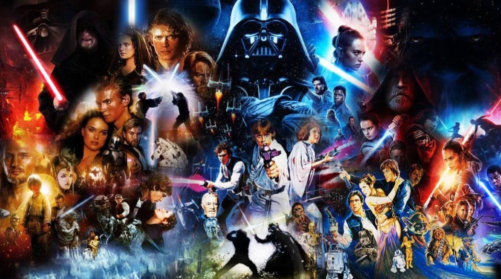 Skywalker Saga boks Star Wars 27 disks / Filmz.dk