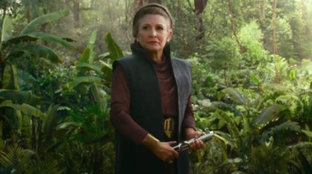 Star Wars The Rise of Skywalker Leia Lyssværd / Filmz.dk