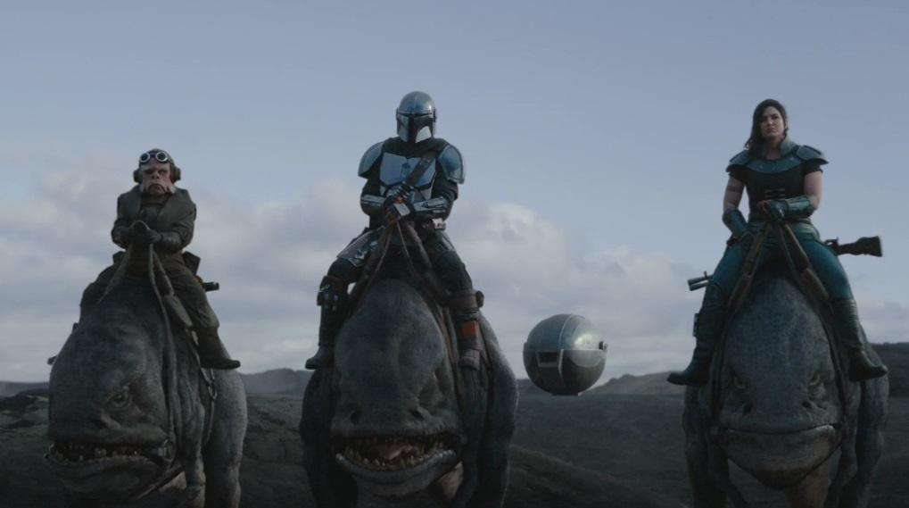 The Mandalorian anmeldelse afsnit 7 sæson 1 star wars / Filmz.dk