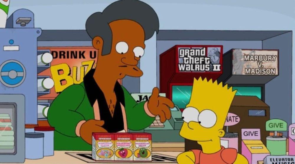 Hank Azaria dropper stemmer Apu racisme The Simpsons / Filmz.dk
