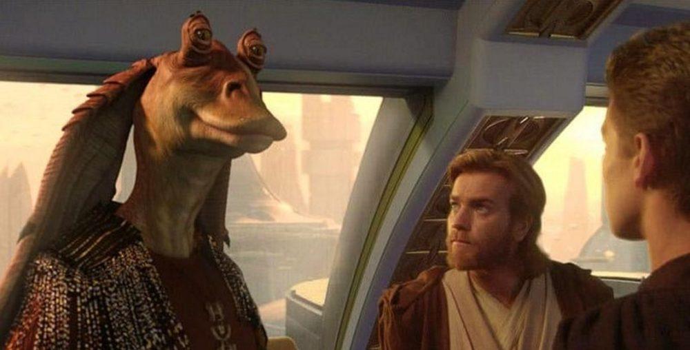 Jar Jar Binks Star Wars Obi-Wan Kenobi serie Disney Plus / Filmz.dk