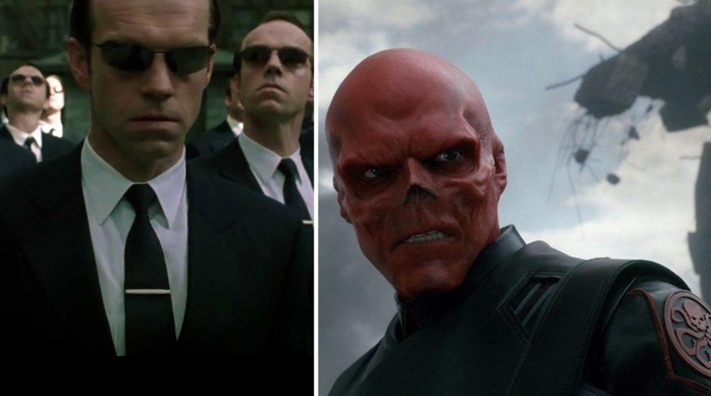 Hugo Weaving Red Skull Matrix 4 / Filmz.dk