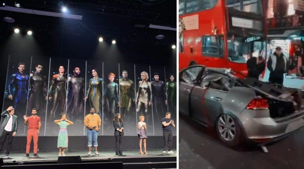 The Eternals MCU Marvel stunt bil / Filmz.dk