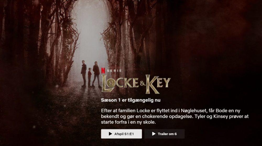 Autoplay drop fjern automatisk trailer trailers Netflix / Filmz.dk