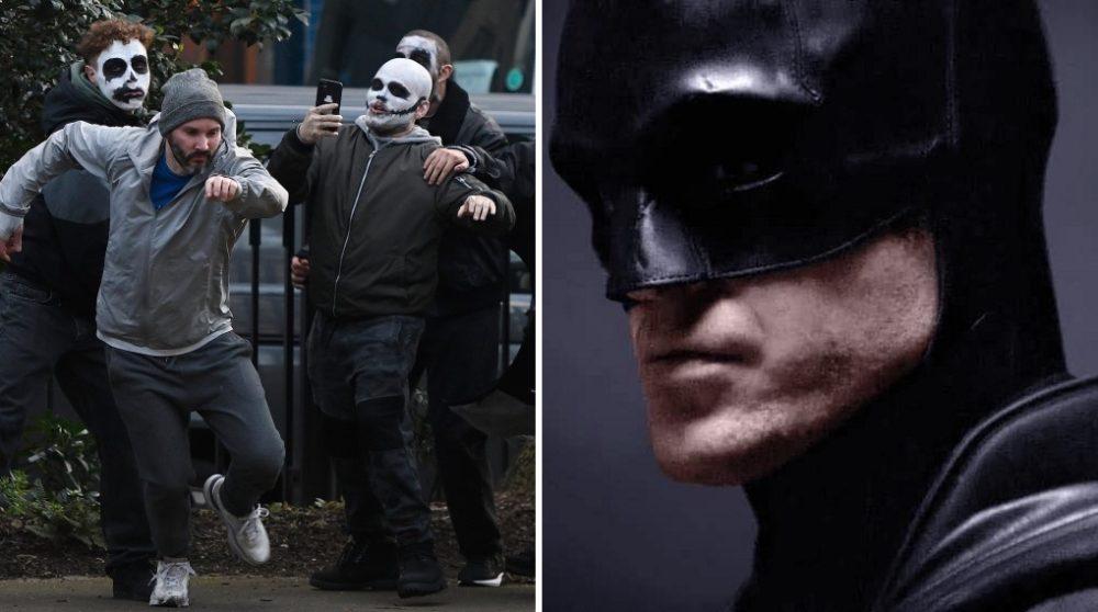 Batman optagelser maskeret skurke / Filmz.dk