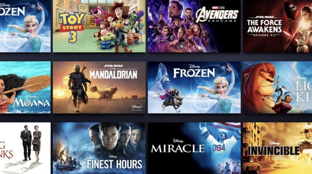 Disney Plus forskel i indhold på tværs af lande / Filmz.dk