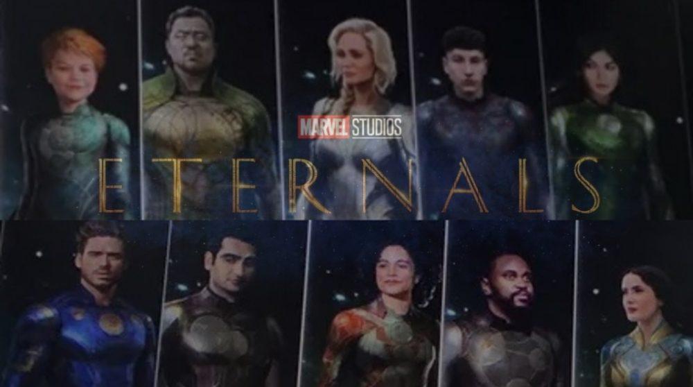 Eternals optagelser produktion mcu marvel 2020 / Filmz.dk
