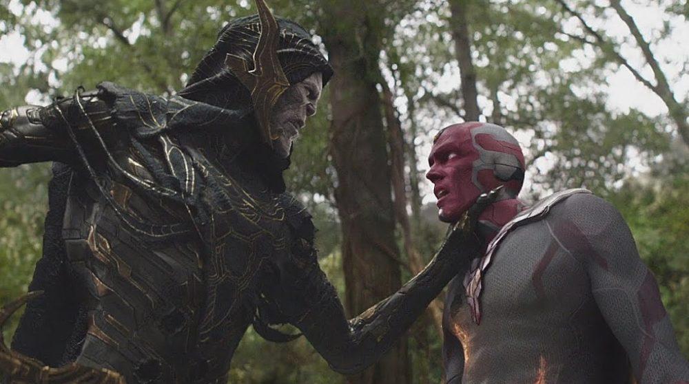 Vision Corvus Glaive Infinity War MCU fraklip / Filmz.dk