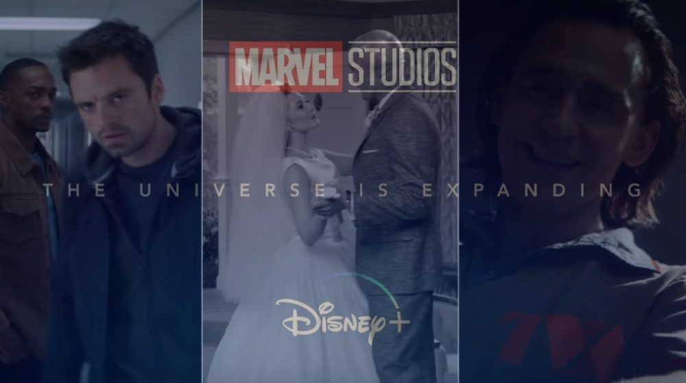 WandaVision The Falcon and the Winter Soldier Loki MCU Marvel Disney Plus teaser / Filmz.dk