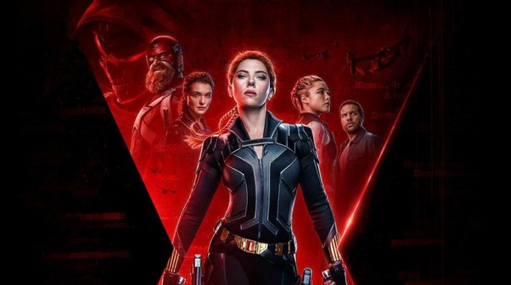 Black Widow MCU Marvel streaming premiere / Filmz.dk