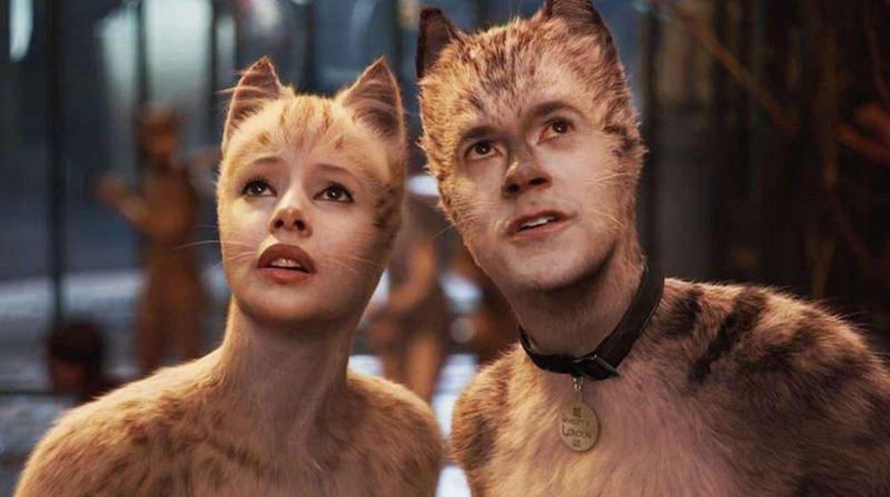 Cats reaktion fjernet røvhul Universal / Filmz.dk