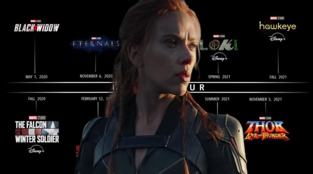 MCU Marvel Phase 4 udsættelse Black Widow / Filmz.dk