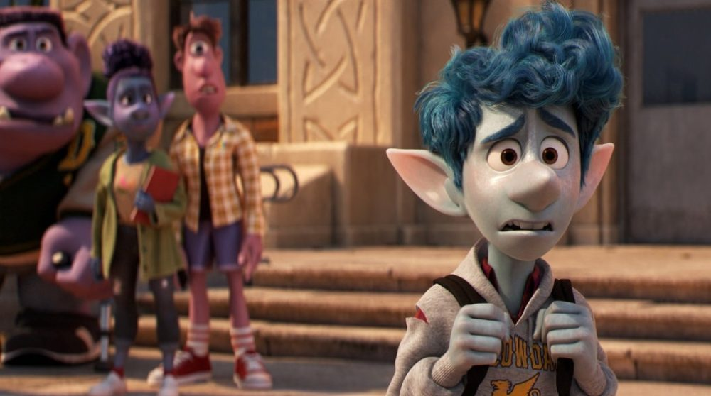 Onward Fremad Pixar åbning flop / Filmz.dk