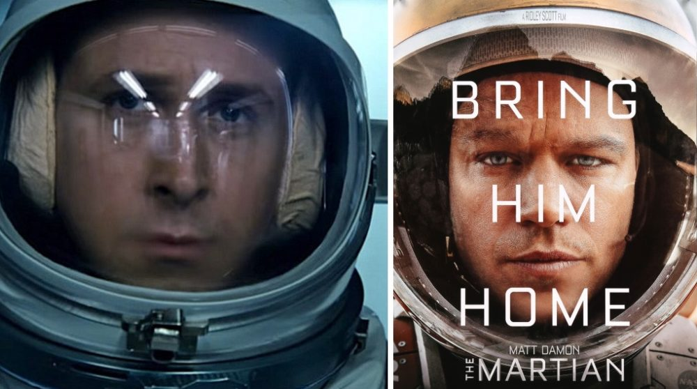 Project Hail Mary Ryan Gosling sci-fi The Martian / Filmz.dk