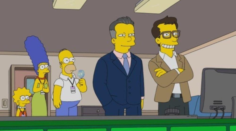 Russo brødrene Avengers Endgame The Simpsons / Filmz.dk