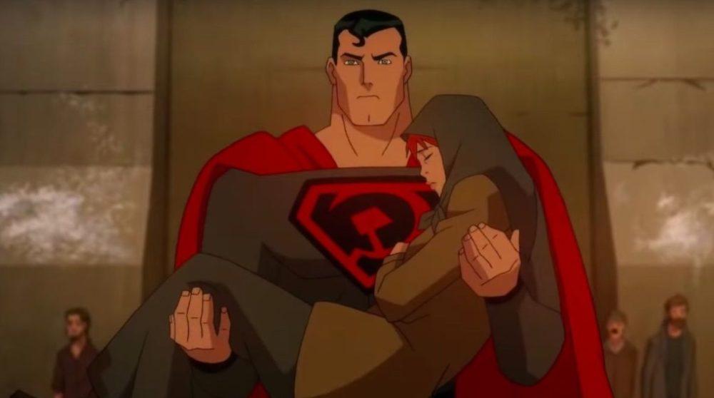 Superman Red Son premiere coronavirus / Filmz.dk