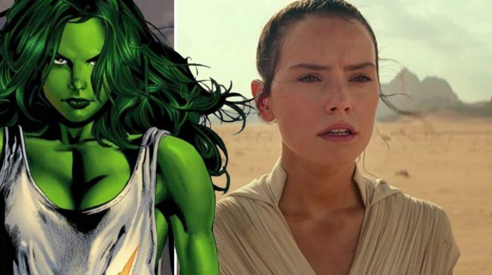 Dana Schwartz She-Hulk The Rise of Skywalker corona / Filmz.dk