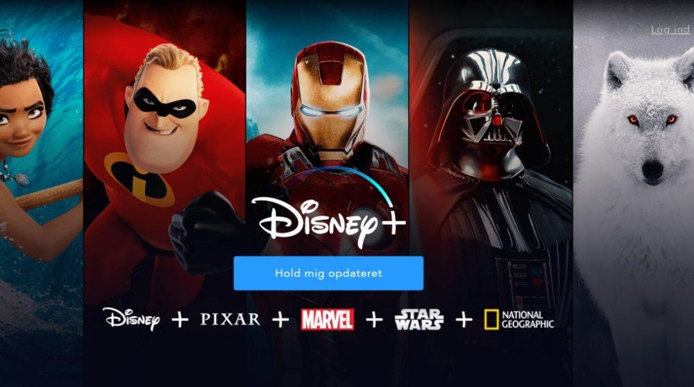 Disney Plus Danmark ændring annoncering / Filmz.dk