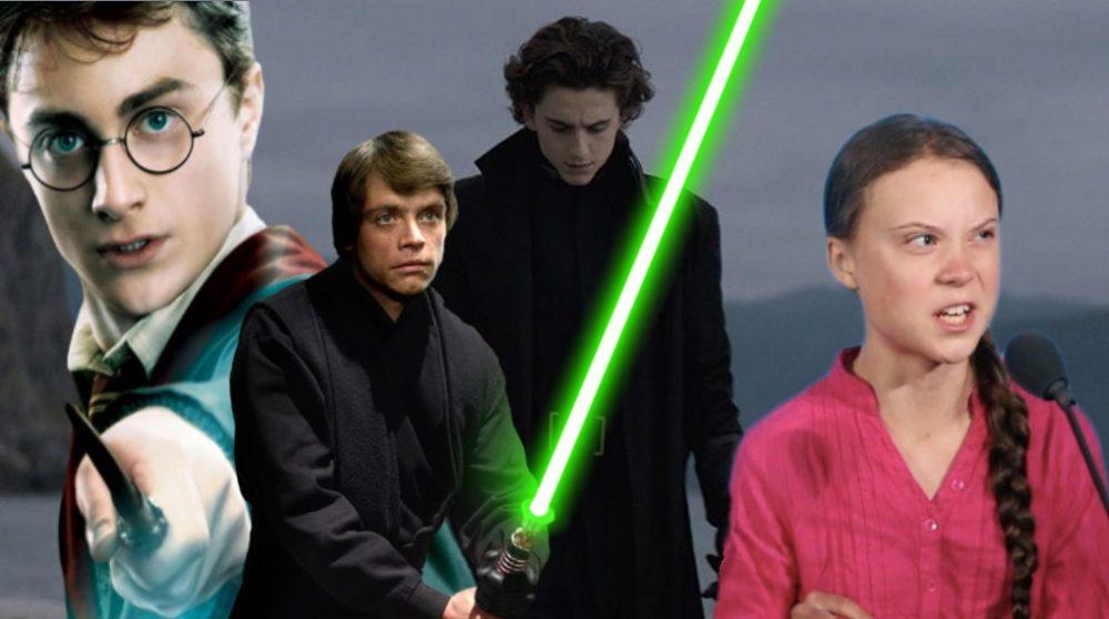 Dune hovedperson Jedi Harry Potter Greta Thunberg / Filmz.dk