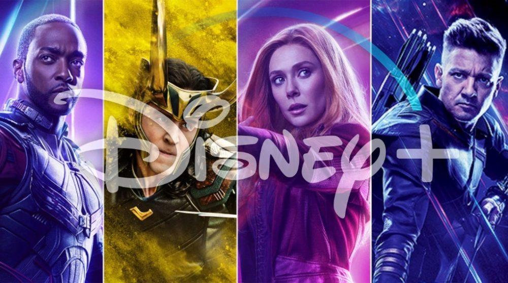 MCU Marvel serie Disney Plus rokade / Filmz.dk