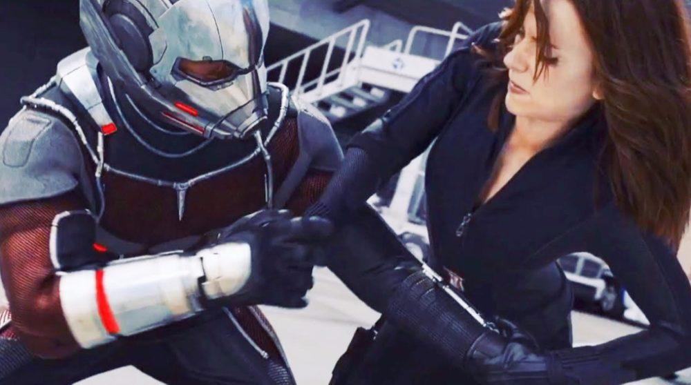 Ant-Man cameo Black Widow / Filmz.dk