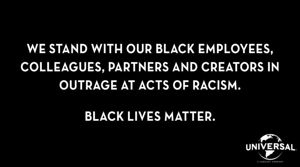 Black Lives Matter støtte hollywood streaming / Filmz.dk