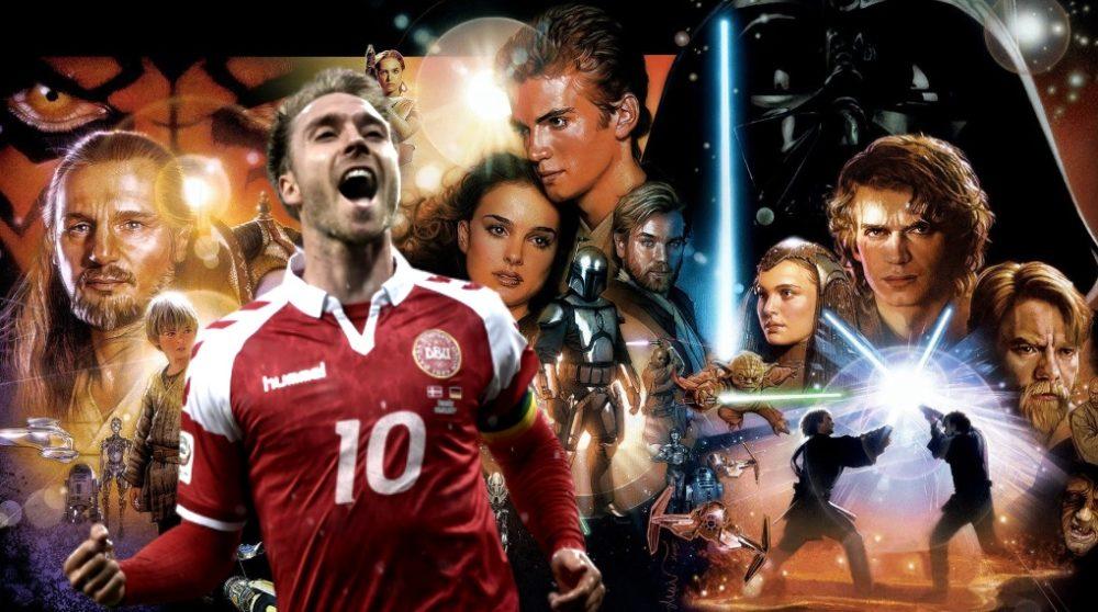 Christian Eriksen Star Wars fan / Filmz.dk