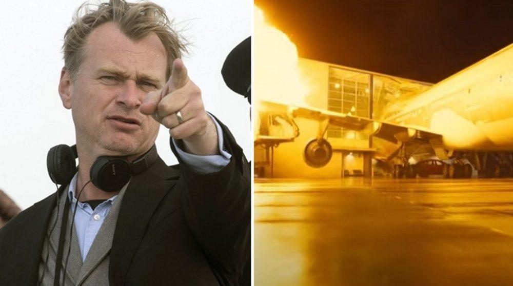 Christopher Nolan Tenet fly / Filmz.dk