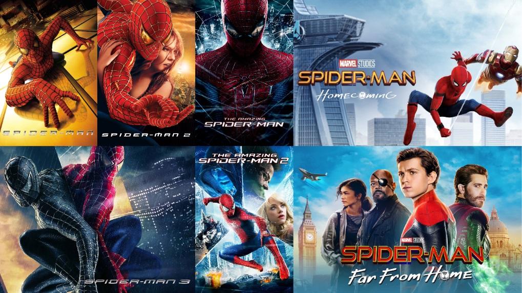 Spider-Man filmene Viaplay / Filmz.dk