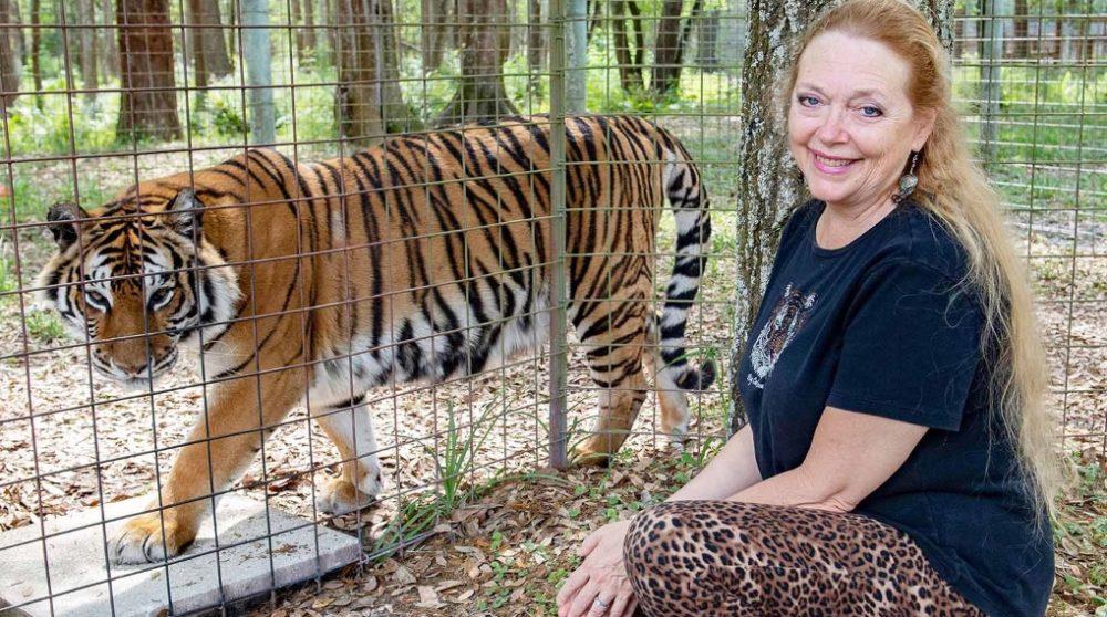 Carole Baskin zoo Joe Exotic Netflix Tiger king / Filmz.dk
