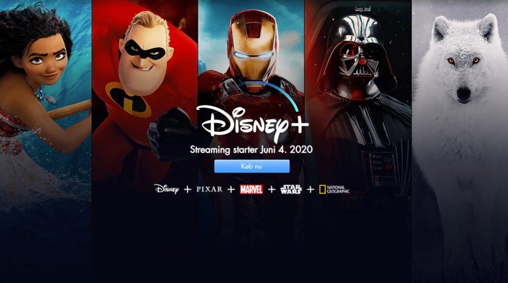 Disney Plus Danmark svindlere falsk / Filmz.dk