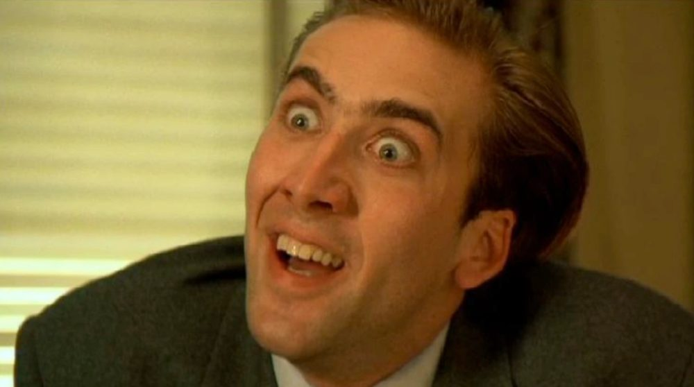 Nicolas Cage arbejder hårdest hollywood / Filmz.dk