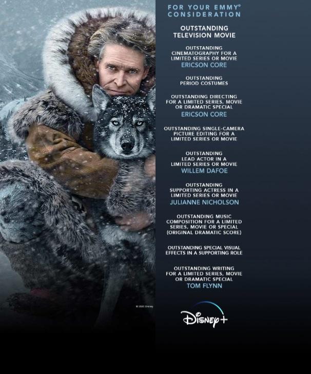Togo Disney Plus Emmy Netflix / Filmz.dk