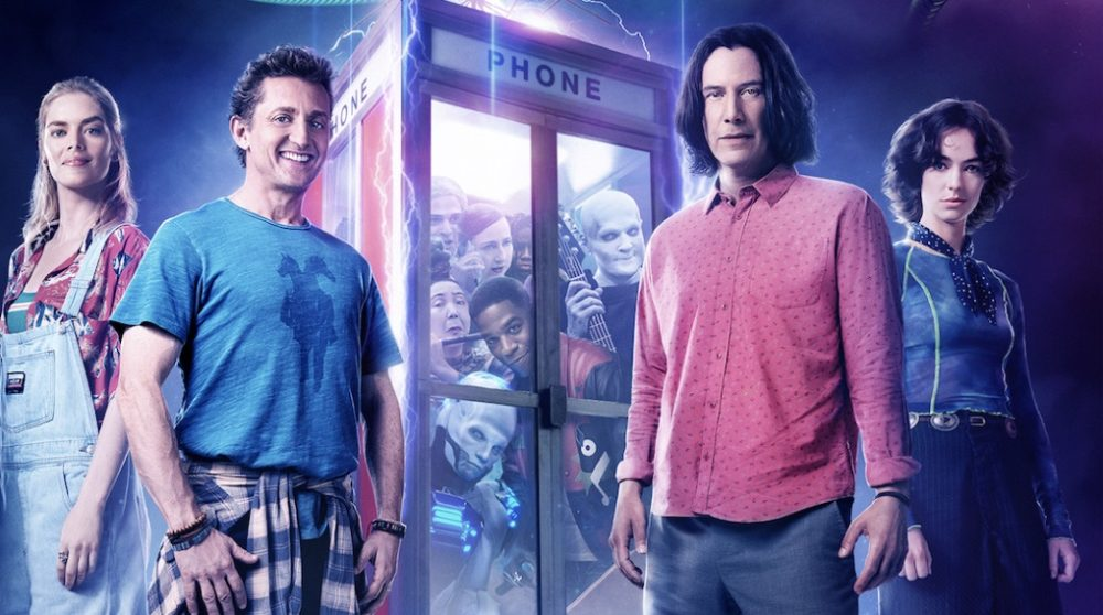 Bill Ted 3 Face the Music Keanu Reeves biograf premiere pvod / Filmz.dk