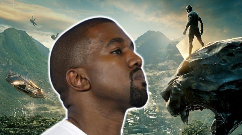 Black Panther Kanye West Wakanda / Filmz.dk