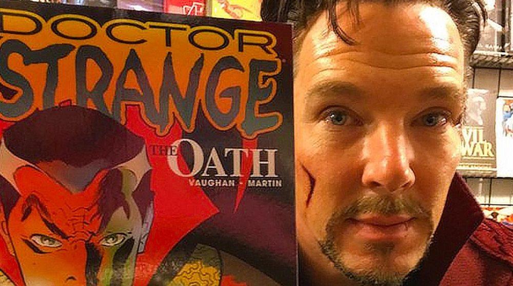 Doctor Strange besøg tegneseriebutik / Filmz.dk
