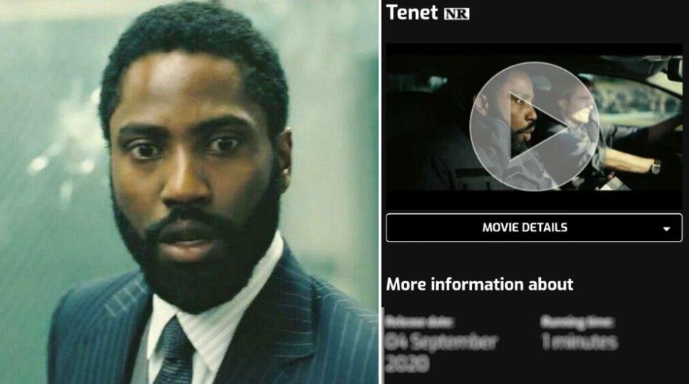 Tenet USA dato / Filmz.dk