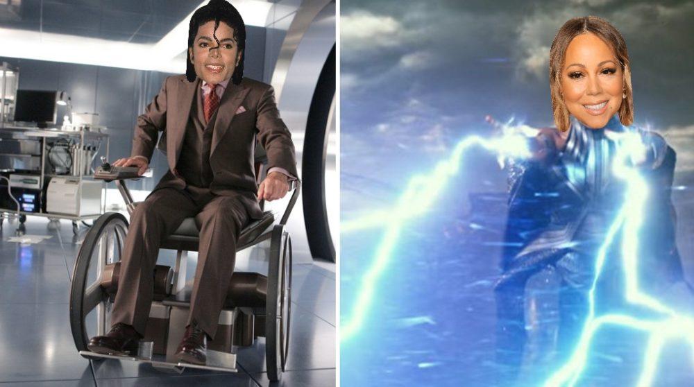 X-Men casting Mariah Carey Michael Jackson / Filmz.dk