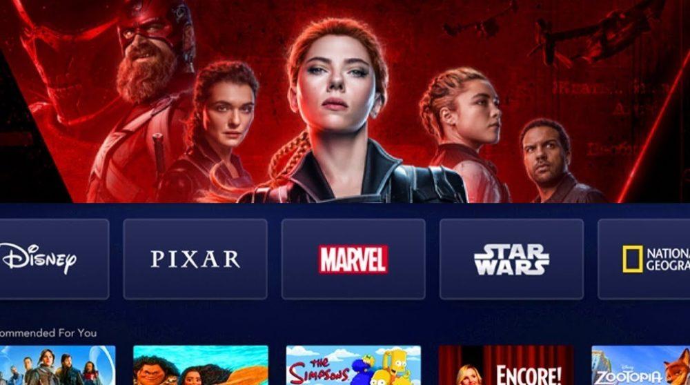 Black Widow PVOD Disney Plus / Filmz.dk