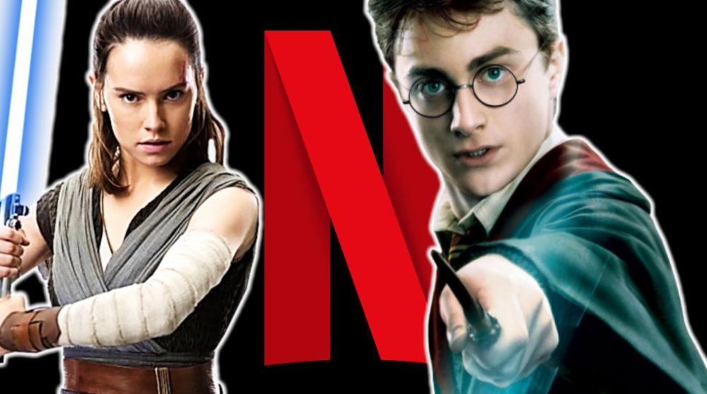 Netflix Star Wars Harry Potter / Filmz.dk