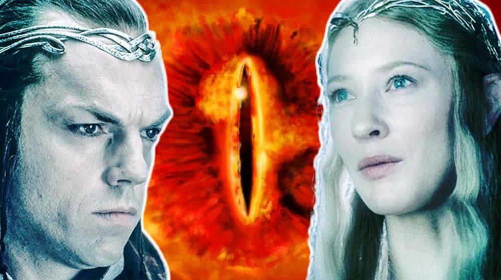 Ringenes herre serie Sauron Elrond Galadriel / Filmz.dk