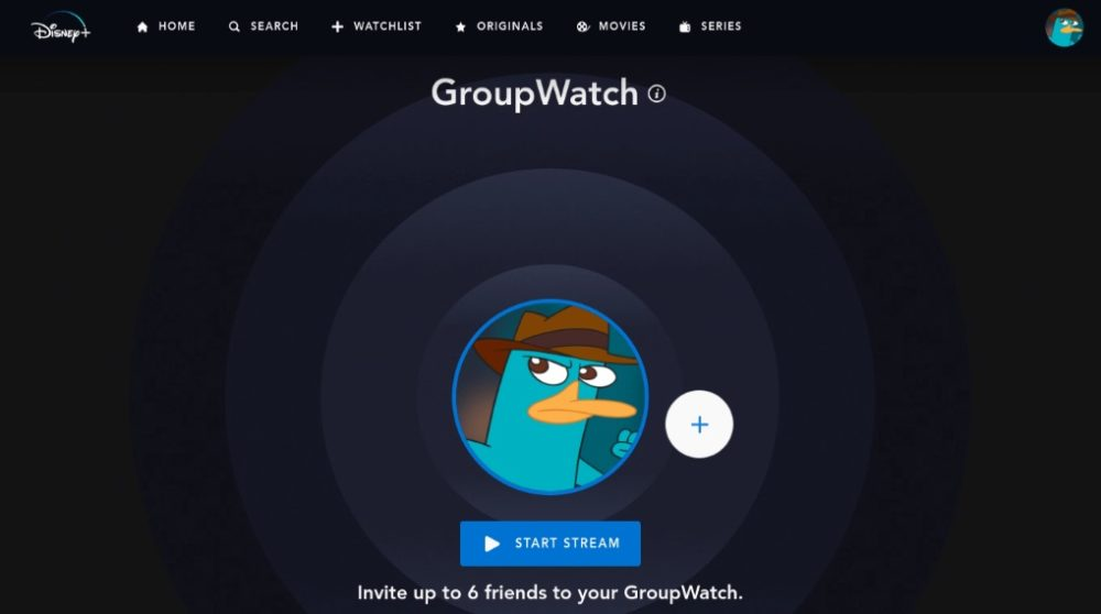 Disney Plus Groupwatch / Filmz.dk