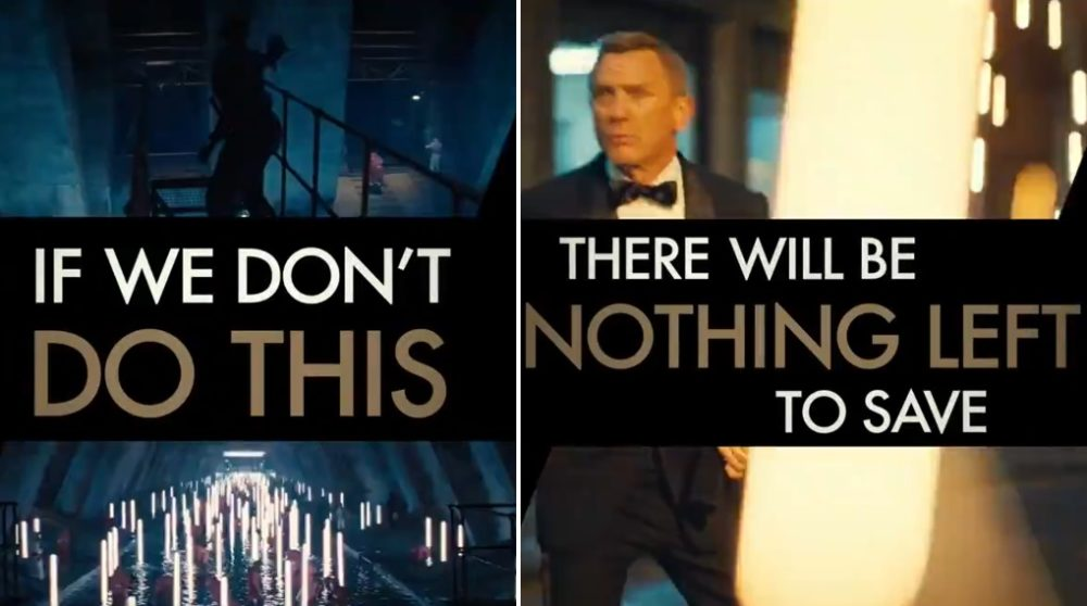 James Bond No Time to Die video biograferne / Filmz.dk