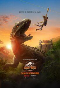 Jurassic World serie plakat Netflix anmeldelse / Filmz.dk