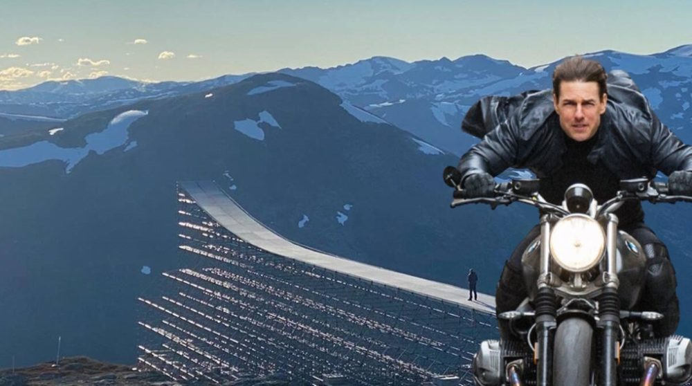 Mission Impossible 7 Tom Cruise stunt / Filmz.dk